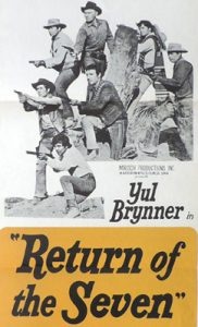 RETURN OF THE SEVEN Daybill Movie poster Original or Reissue? image