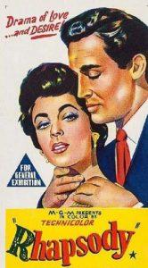 RHAPSODY Daybill Movie poster Original or Reissue? image