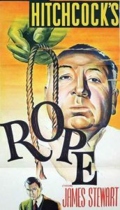 ROPE Alfred Hitchcock Daybill Movie Poster Original or Reissue? image