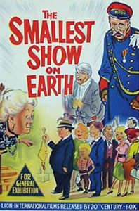 THE SMALLEST SHOW ON EARTH Daybill Movie poster Original or Reissue? image