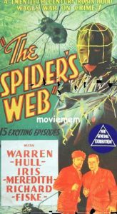 The SPIDER'S WEB Daybill Movie poster Original or Reissue? image