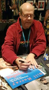 STEPHEN TOBOLOWSKY Signing a Daybill Movie Poster image