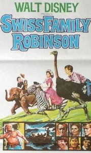 SWISS FAMILY ROBINSON Daybill Movie poster Original or Reissue image