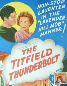 THE TITFIELD THUNDERBOLT Daybill Movie Poster Original or Reissue? image