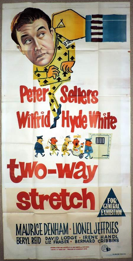 TWO WAY STRETCH Original 3 Sheet Movie Poster Peter Sellers