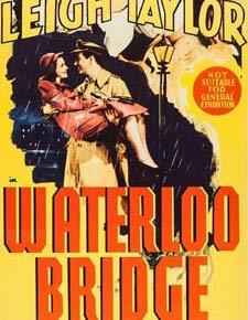 WATERLOO BRIDGE Daybill Movie Poster Original or Reissue? image