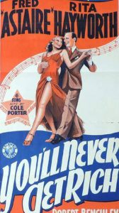 YOU'LL NEVER GET RICH Daybill Movie Poster Original or Reissue? image