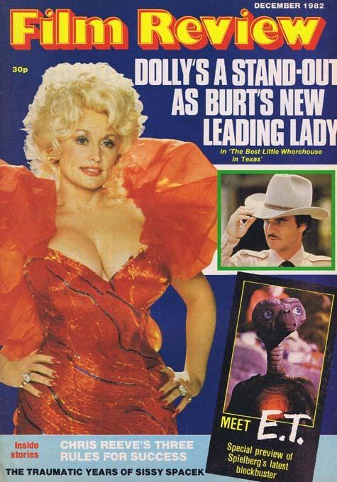 FILM REVIEW Magazine Dec 1982 Dolly Parton plus ET feature