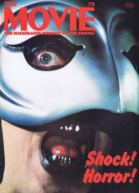 THE MOVIE Magazine Issue 79 Shock Horror! Phantom of the Paradise Cover