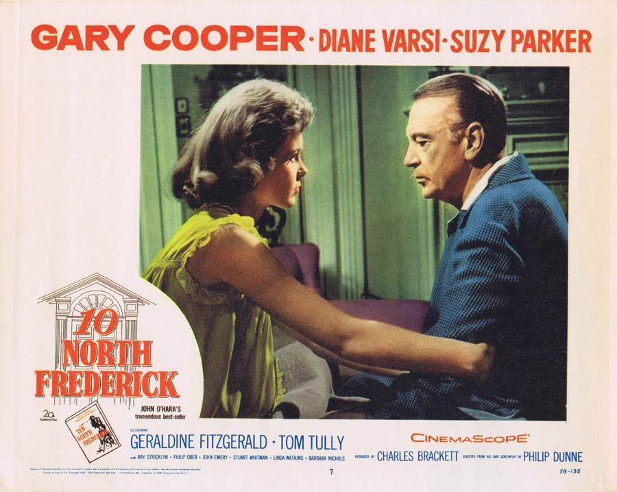 TEN NORTH FREDERICK Lobby Card 7 Gary Cooper