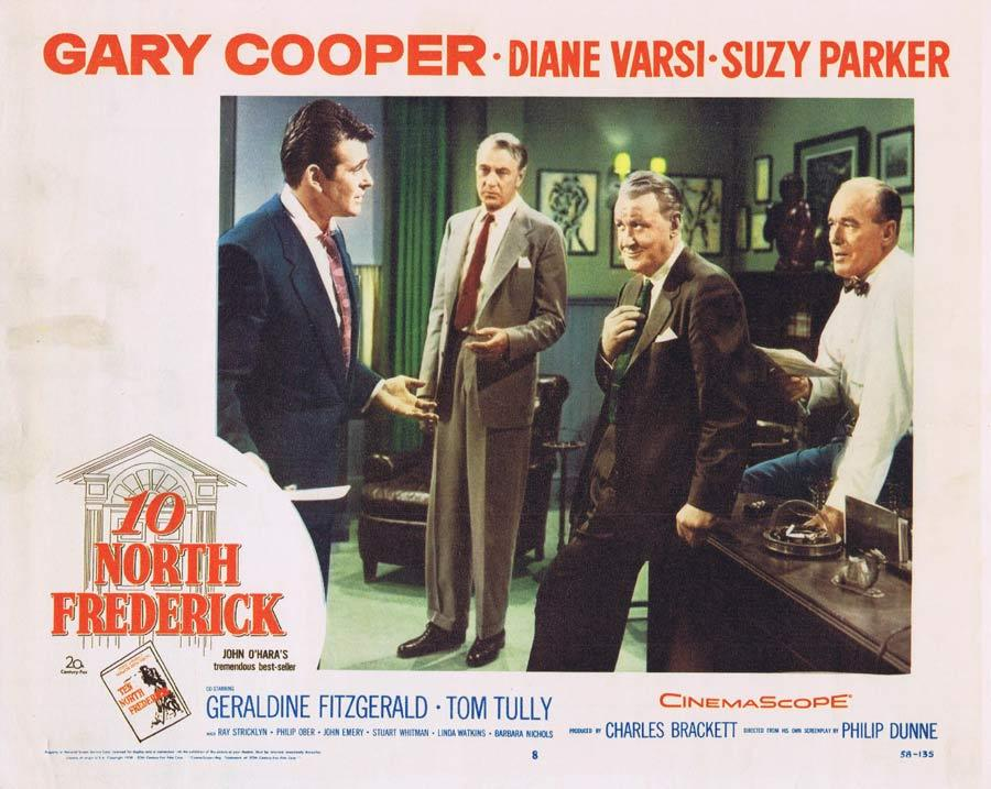 TEN NORTH FREDERICK Lobby Card 8 Gary Cooper
