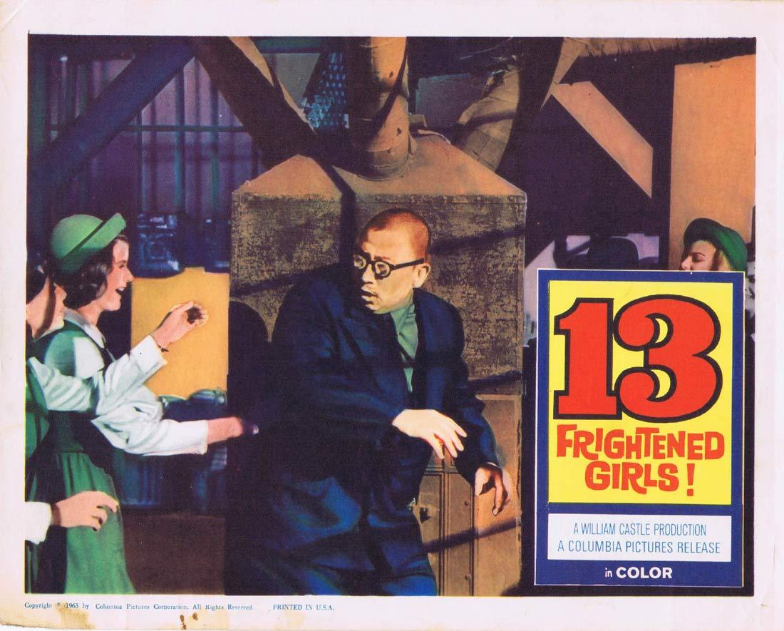 13 FRIGHTENED GIRLS Lobby Card 4 Murray Hamilton William Castle