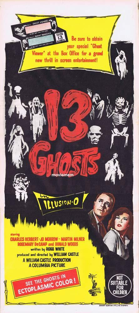 13 Ghosts, William Castle, Charles Herbert, Jo Morrow, Martin Milner, Rosemary DeCamp