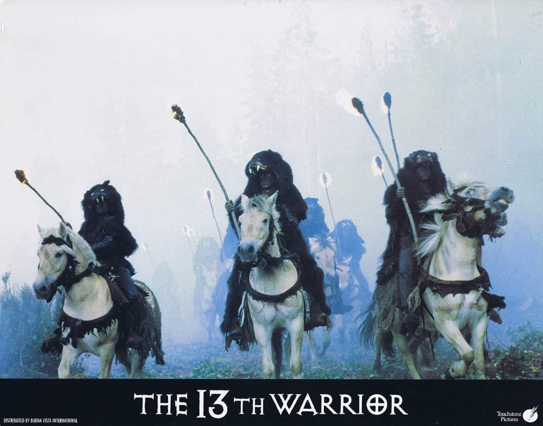 THE 13TH WARRIOR Original Lobby Card 2 Antonio Banderas Diane Venora