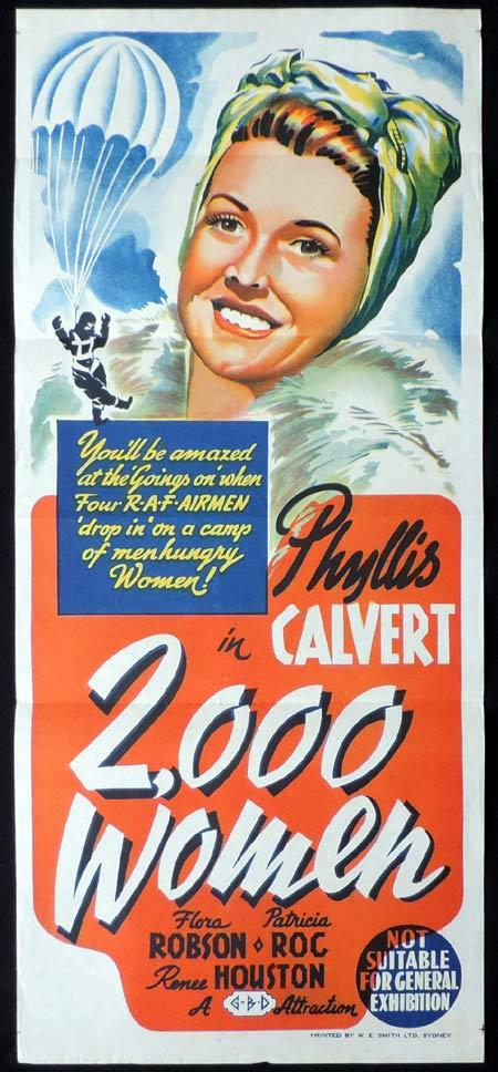 Two Thousand Women, Frank Launder, Phyllis Calvert, Flora Robson, Patricia Roc, Renee Houston
