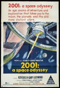 2001 A SPACE ODYSSEY One Sheet Movie Poster Stanley Kubrick