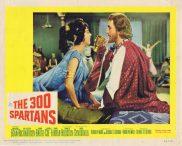 THE 300 SPARTANS Original Lobby Card 2 Richard Egan Rudolph Mate