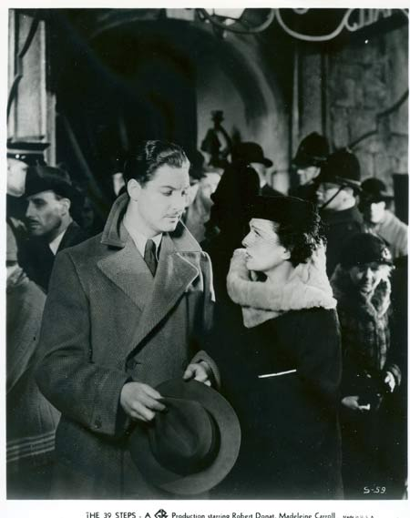 THE 39 STEPS Alfred Hitchcock RARE Movie Still 1