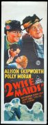 2 WISE MAIDS Long Daybill Movie poster 1937 Alison Skipworth