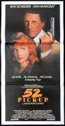 52 PICK UP Daybill Movie poster Roy Scheider Ann-Margret Film Noir