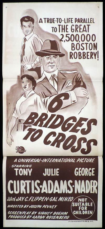 6 BRIDGES TO CROSS Daybill Movie poster