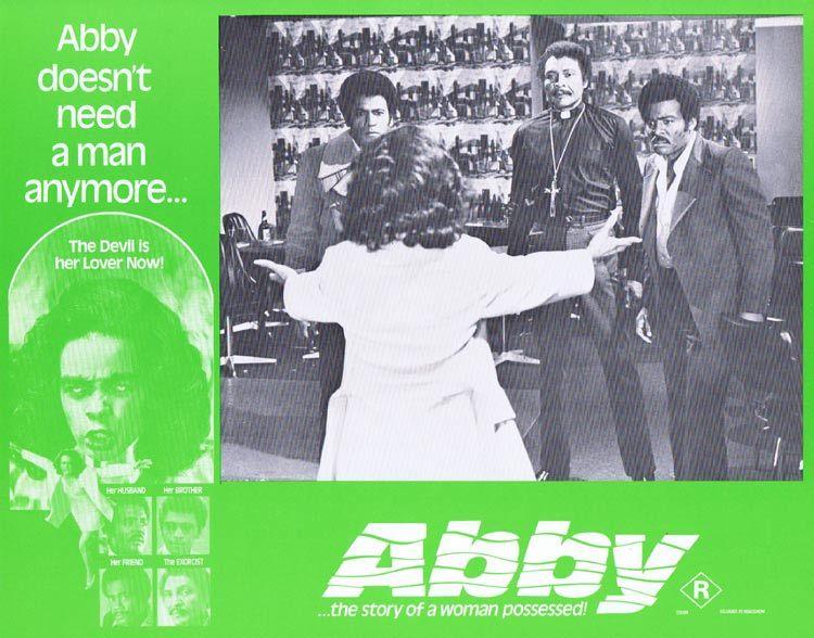 ABBY Lobby card 4 Horror Exorcism Blaxploitation William H. Marshall