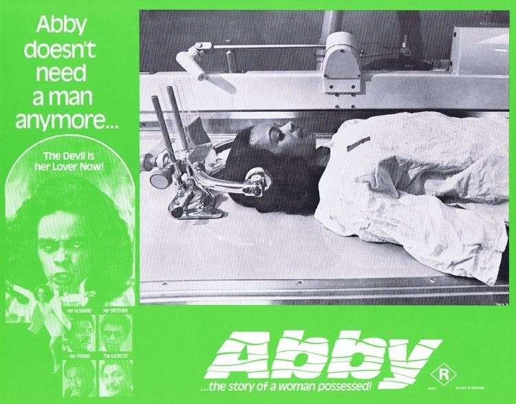 ABBY Lobby card 6 Horror Exorcism Blaxploitation William H. Marshall