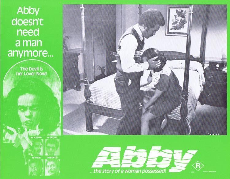 ABBY Lobby card 7 Horror Exorcism Blaxploitation William H. Marshall