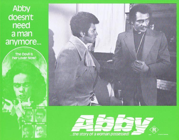 ABBY Lobby card 8 Horror Exorcism Blaxploitation William H. Marshall