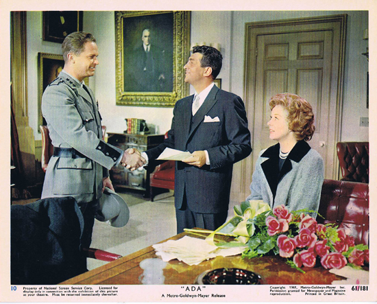 ADA 1961 Vintage Colour Movie Still 10 Susan Hayward Ralph Meeker Dean Martin