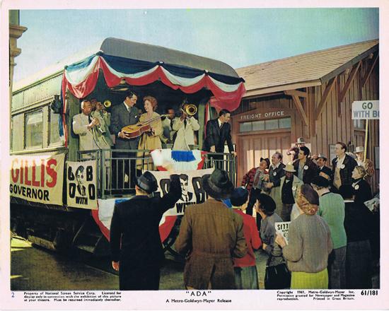 ADA 1961 Vintage Colour Movie Still 2 Dean Martin and Susan Hayward campaign
