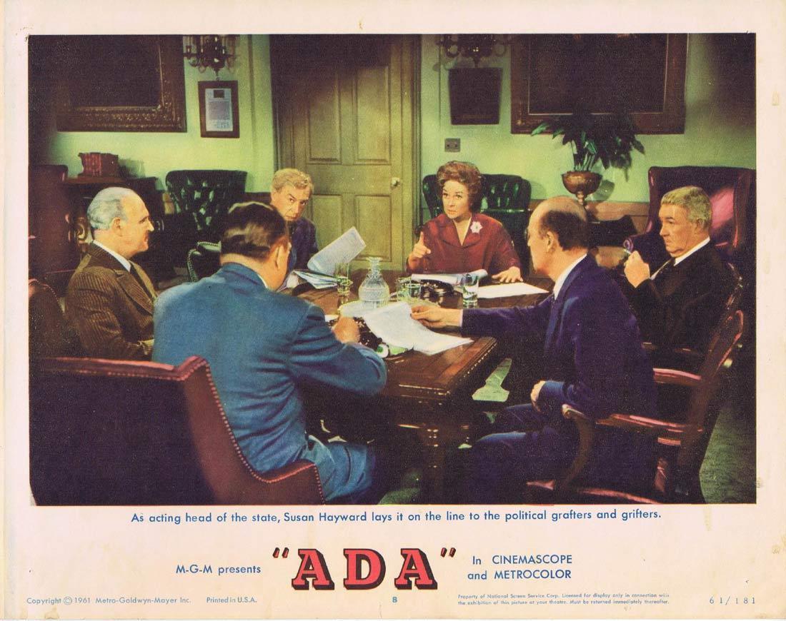 ADA Lobby card 8 Dean Martin Susan Hayward Ralph Meeker