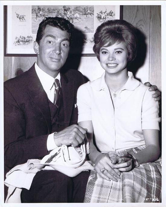 ADA 1961 Vintage Movie Still 1 Dean Martin with Juliet Prowse Surprise visit