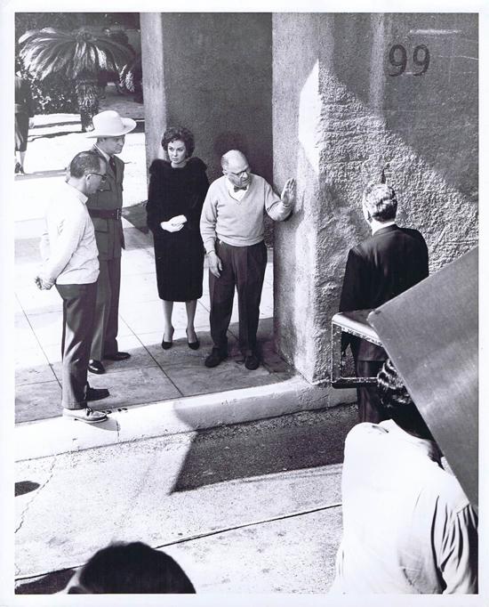 ADA 1961 Vintage Movie Still 27 Susan Hayward Daniel Mann on the set