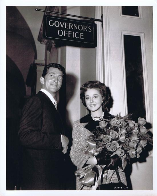 ADA 1961 Vintage Movie Still 32 Susan Hayward Dean Martin Governor's Office
