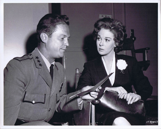 ADA 1961 Vintage Movie Still 35 Ralph Meeker Susan Hayward check script