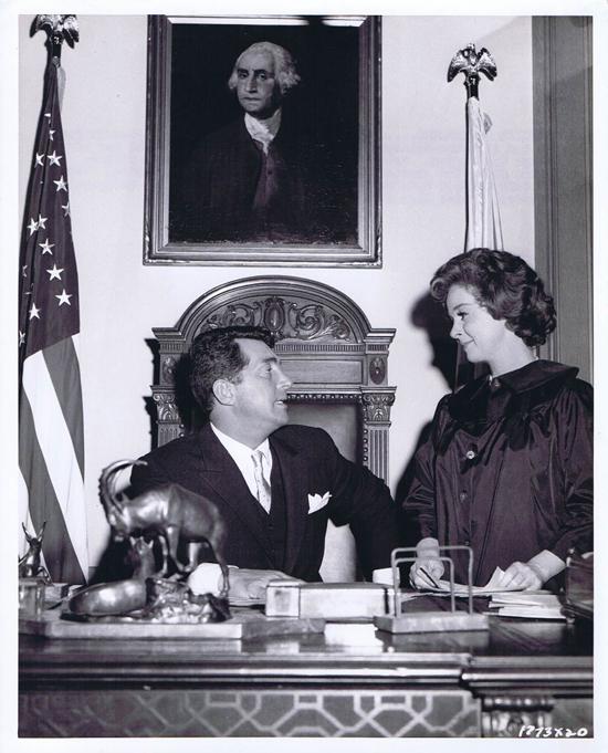 ADA 1961 Vintage Movie Still 7 Susan Hayward and Dean Martin rehearse