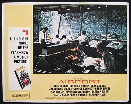 AIRPORT Original Lobby card 3 Control Tower
