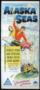 ALASKA SEAS Original Daybill Movie Poster ROBERT RYAN Jan Sterling Richardson Studio