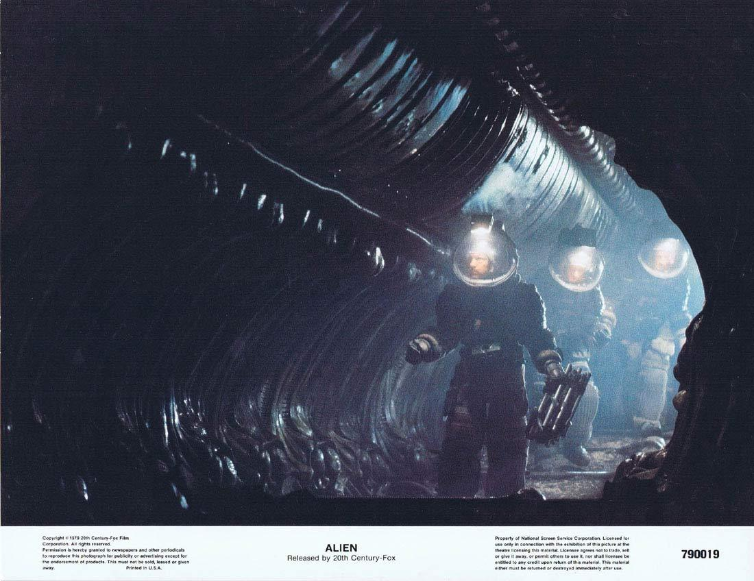 Alien, Ridley Scott, Tom Skerritt, Sigourney Weaver, Veronica Cartwright, Harry Dean Stanton, John Hurt, Ian Holm, Yaphet Kotto