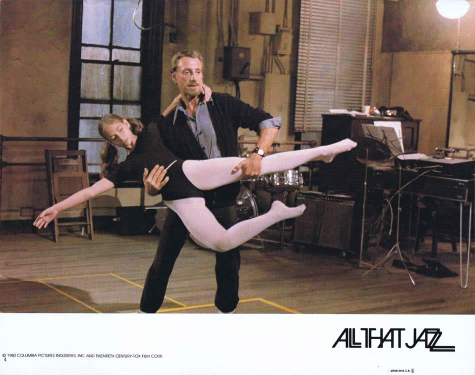 ALL THAT JAZZ Lobby Card 4 Roy Scheider Jessica Lange Leland Palmer
