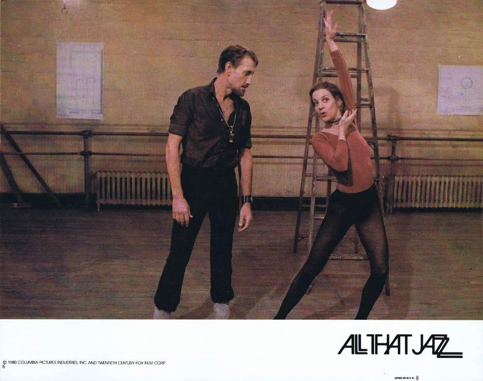 ALL THAT JAZZ Lobby Card 6 Roy Scheider Jessica Lange Leland Palmer