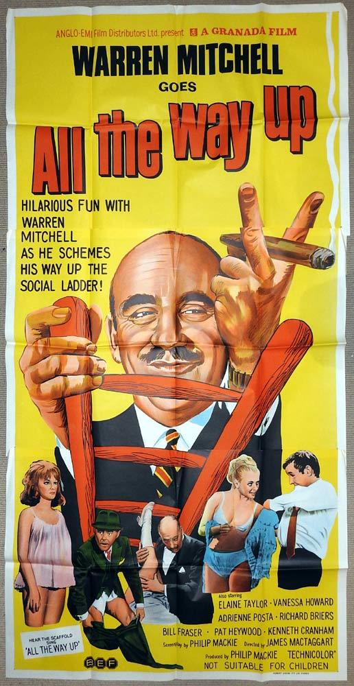 ALL THE WAY UP Original 3 Sheet Movie Poster Warren Mitchell