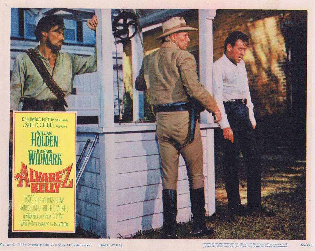 ALVAREZ KELLY Lobby Card 2 William Holden Richard Widmark