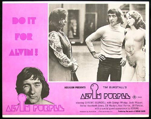 ALVIN PURPLE 1973 Tim Burstall GRAEME BLUNDELL Lobby card 3