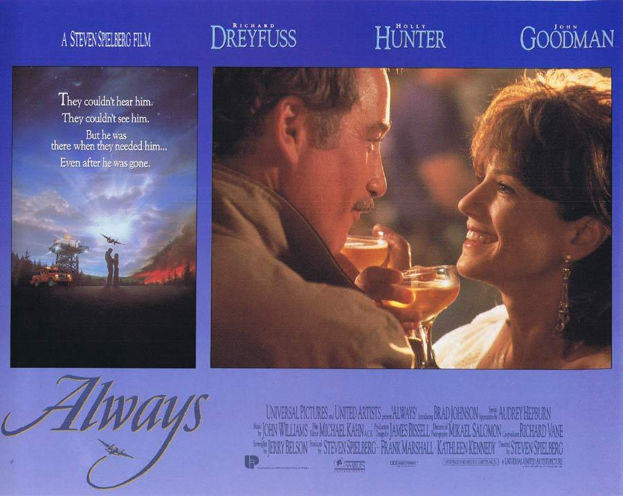 ALWAYS Lobby Card 1 Richard Dreyfuss Holly Hunter