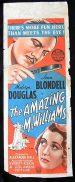 AMAZING MR WILLIAMS Long Daybill Movie Poster 1939 Joan Blondell