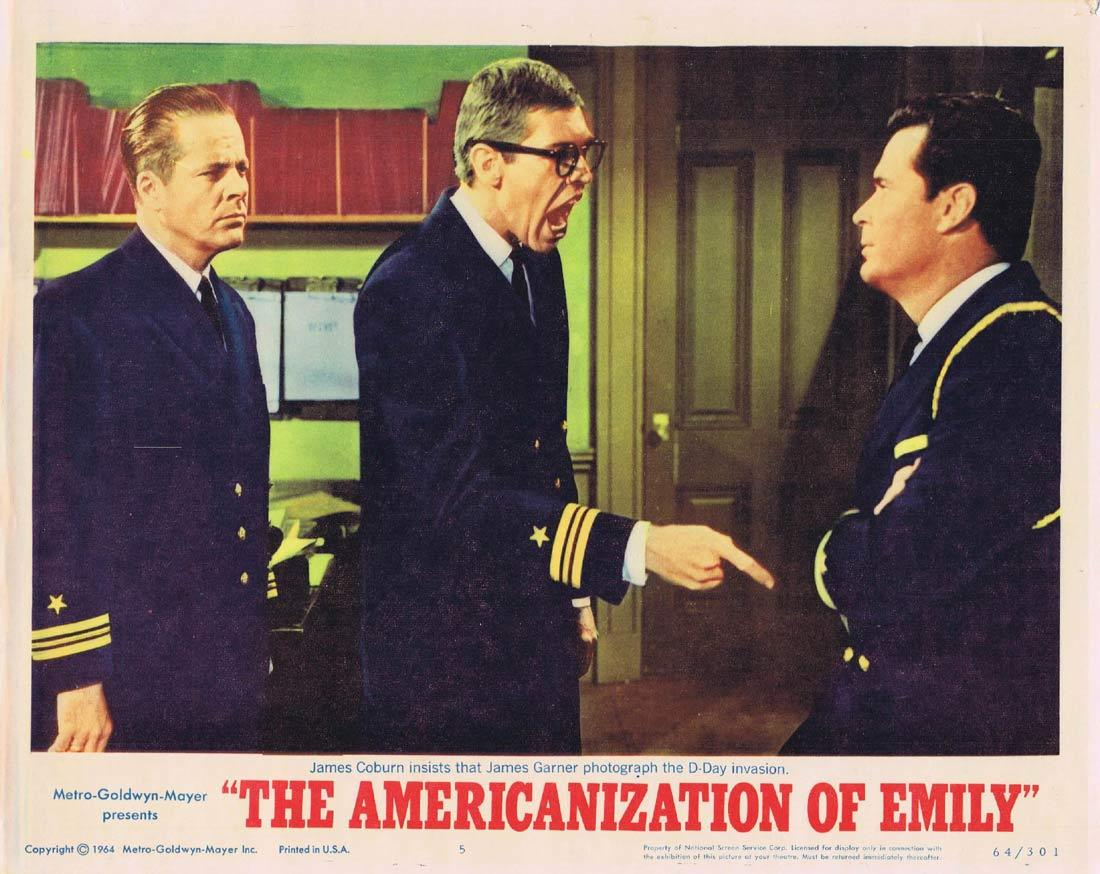 THE AMERICANIZATION OF EMILY Lobby Card 5 James Garner Julie Andrews Melvyn Douglas