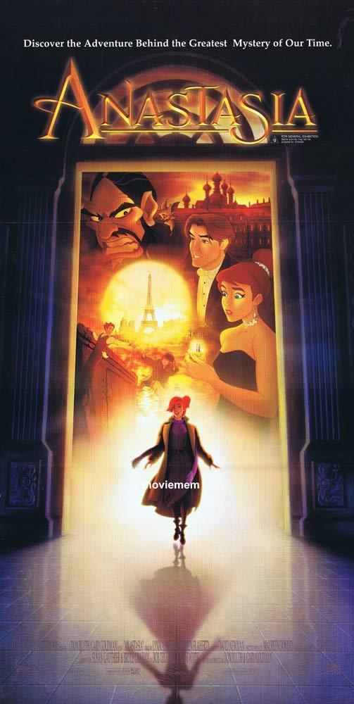 ANASTASIA Original Daybill Movie poster John Cusack Meg Ryan