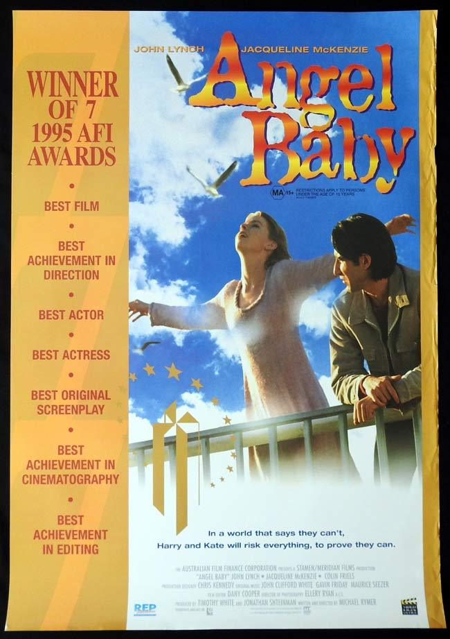 ANGEL BABY Original One sheet Movie poster 19902 Video release